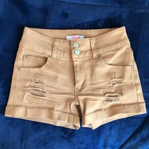 Refuge brand shorts from Charlotte Russe